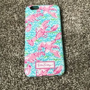 Lilly Pulitzer Lobstah Roll iPhone 6 case